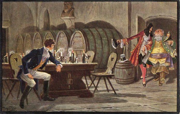 Фантасмагории в бременском винном погребке — Вильгельм Гауф