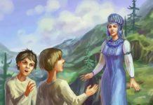 Голубая змейка - Бажов Павел