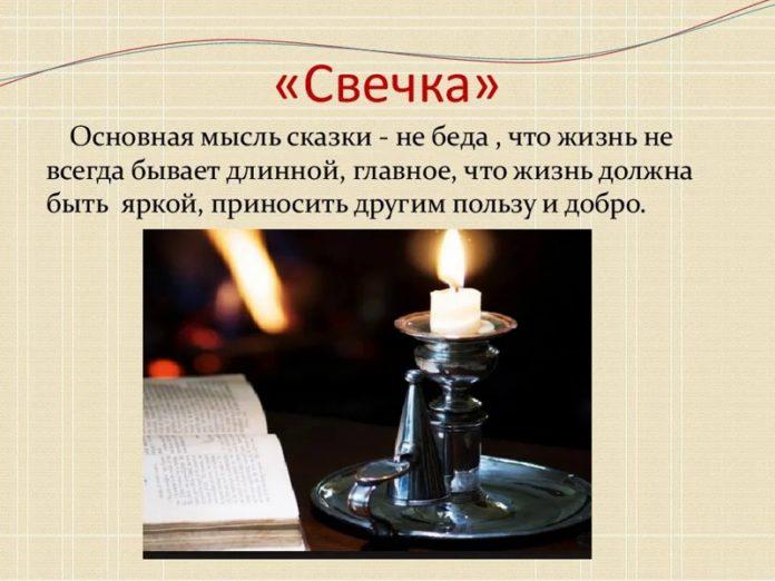 Свечка — Пермяк Евгений