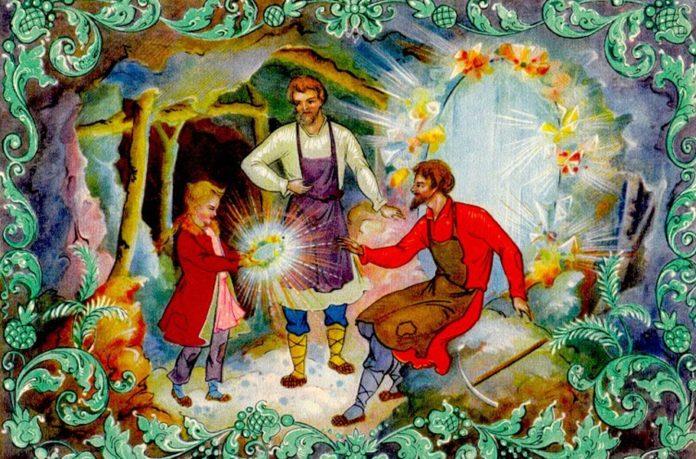 Таюткино зеркальце - Бажов Павел