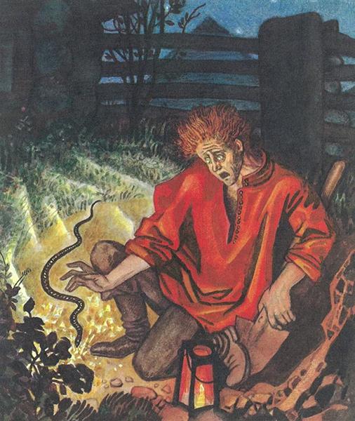 Змеиный след - Бажов Павел