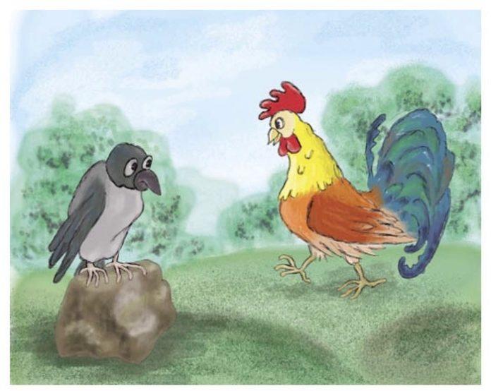 Ворона и Курица - Крылов Иван