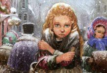 Девочка со спичками - Андерсен