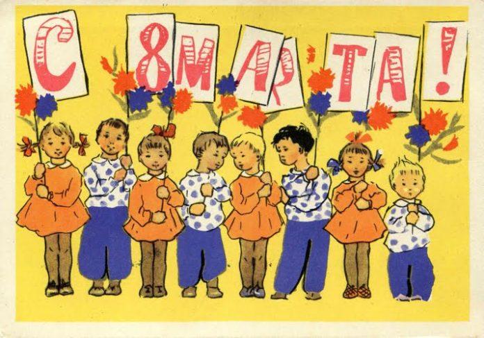 Стихи к 8 марта для детей