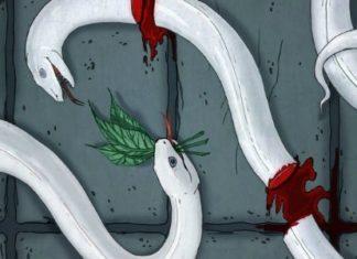 Три змеиных листочка — Братья Гримм